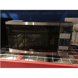 OSTER STAINLESS STEEL & BLACK MICROWAVE