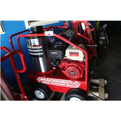 BRAND NEW MAGNUM 4000 SERIES GOLD HOT WATER PRESSURE WASHER WITH DIESEL HEATER
