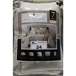 BRIDGE STREET FREEMONT QUEEN SIZE COMFORTER SET