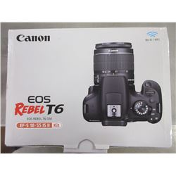 CANON REBEL T6 EOS WI-FI CAMERA
