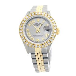 Rolex Pre-owned 26mm Womens Custom Grey Two Tone - REF-520K2X
