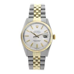 Rolex Pre-owned 36mm Mens Silver Two Tone - REF-490Y4W
