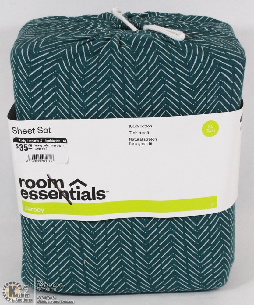 Room Essentials Jersey Sheet Set Twin Xl