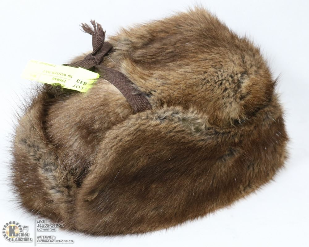 Image 1   RCMP BEAVER WINTER HAT 36d2a86db3c