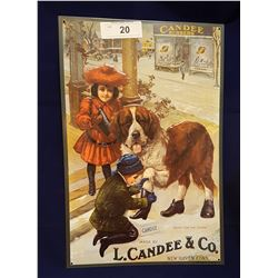 CANDEE RUBBER BOOT EMBOSSED SIGN
