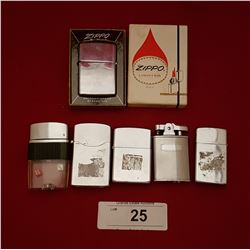 SIX VINTAGE LIGHTERS