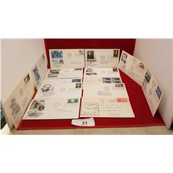 14 VINTAGE FIRST DAY OF ISSUE STAMP & ENVELOPE COLLECTION