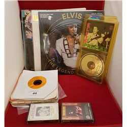 LOT OF ELVIS COLLECTIBLES