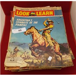 52 VINTAGE LOOK & LEARN MAGAZINES