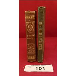 TWO ANTIQUE 1800'S BOOKS