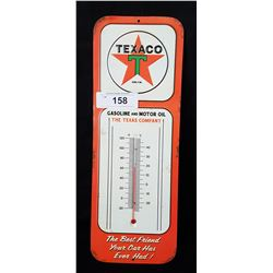 TEXACO TIN THERMOMETER
