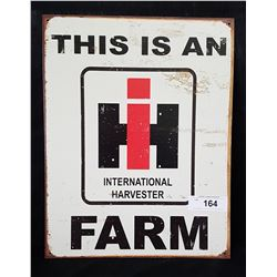 CASE INTERNATIONAL HARVESTER SST SIGN