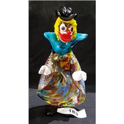 MURANO ART GLASS CLOWN