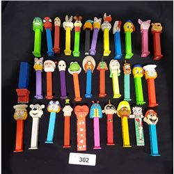 COLLECTION OF PEZ DISPENSERS