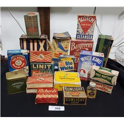 COLLECTION OF GENERAL STORE BOXES
