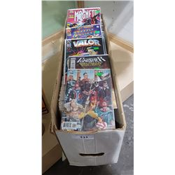 BOX OF 240 MISC COMICS
