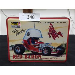 "N.O.S. LTD ED. REVELL MONOGRAM ""RED BARON"" MODEL KIT IN COLLECTIBLE TIN"