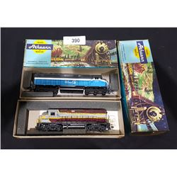 TWO ATHEARN HO SCALE ENGINES
