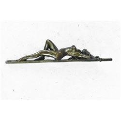Erotic Chained Bondage Bronze Sculpture