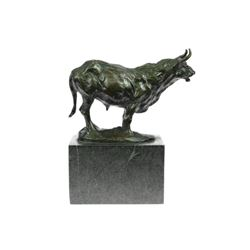Mountain Anoa Dwarf Water Buffalo Bronze Sculpture