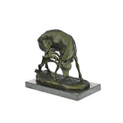 Buck Stag Bronze Sculpture