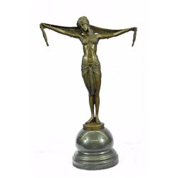 Classic Belly Dancer Bronze Sculpture