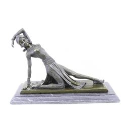Show Girl Dancer Bronze Sculpture