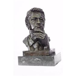 President Clinton Oval Office Bronze Sculpture