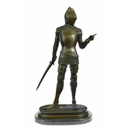 Knight Warrior Bronze Statue