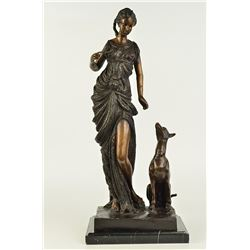 Diana the Hunter Bronze Sculpture