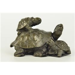 Vienna Snapping Turtle Bronze Figurine