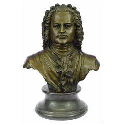 Johann Sebastian Bach The father of Music head Bronze Statue