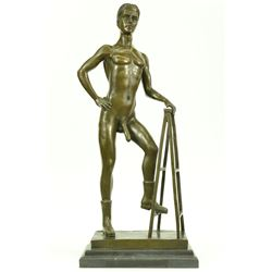 Nude Male Gay Art Bronze Statues