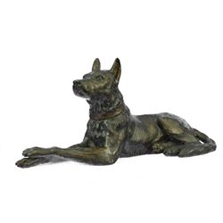 Basenji Dog Bronze Sculpture