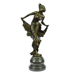 Belly Dancer Bronze Sculpture