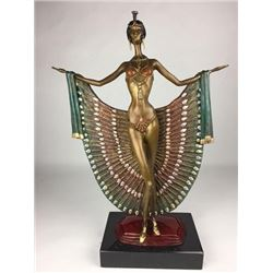 Simply Captivating French Bronze Sculpture