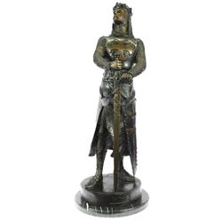Museum Quality Roman Warrior Soldier Bronze Sculpture