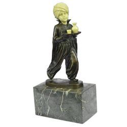 Alibaba The Server Bronze Sculpture