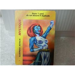 MARVEL OVERPOWER COLLECTIBLE GAME CARD 1995 - SPECIAL CHARACTER CARD - IN CLEAR SLEEVE - NEAR MINT -