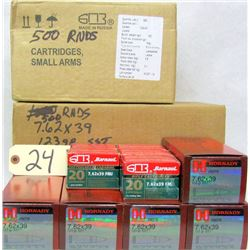 1840 RNDS 7.62 X 39 AMMO