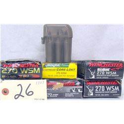 135 RNDS 270 AMMO