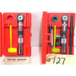 BOX  LOT LEE RELOADING KITS
