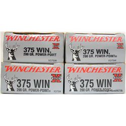 69 RNDS WINCHESTER 375 WIN FACTORY