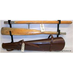RIFLE SCABBARD AND TAKEDOWN OAR
