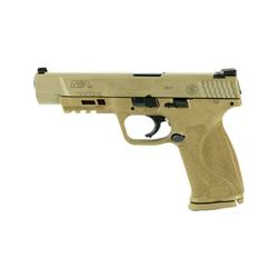 "S& W M& P 2.0 40SW 5"" 15RD FDE NMS"