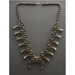 NAVAJO SQUASH NECKLACE