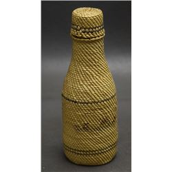 NOOTKA MAKAH BASKETRY BOTTLE