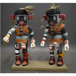 HOPI KACHINA SET (HONEYESTEWA)