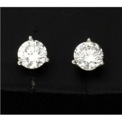 1ct TW Diamond Stud Earrings