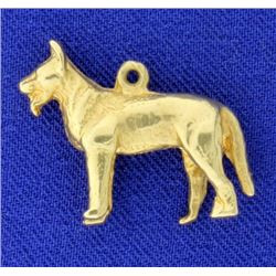 German Sheppard Dog Pendant